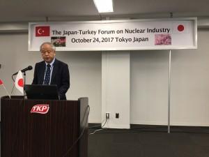 Japan Atomic İndustrial Forum Başkanı Akio Takahashi
