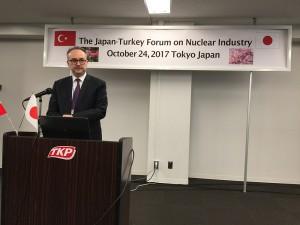Türkiye Cumhuriyeti Japonya Büyükelçiliği Müsteşarı Deha Erpek
